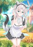 Fox maid natural :D