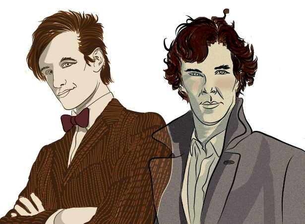 Sherlock and 11 by LuvGen