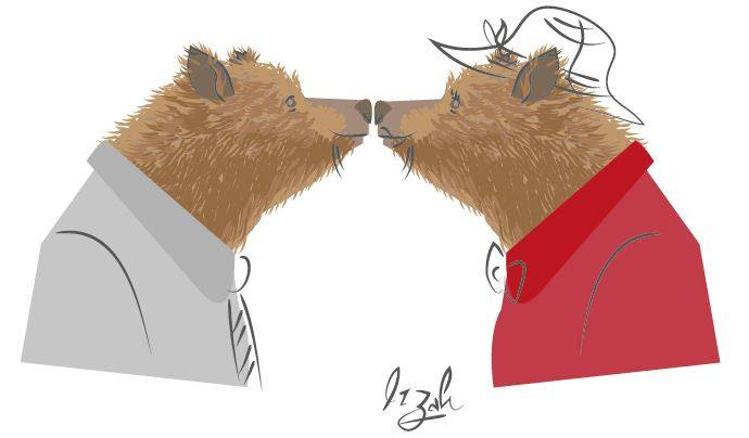 Bear greetings by LuvGen