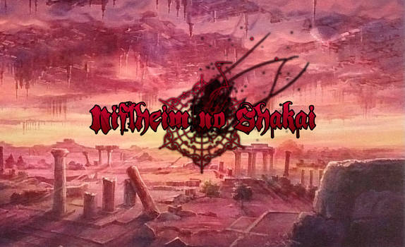 Niflheim no Shakai Logo+background