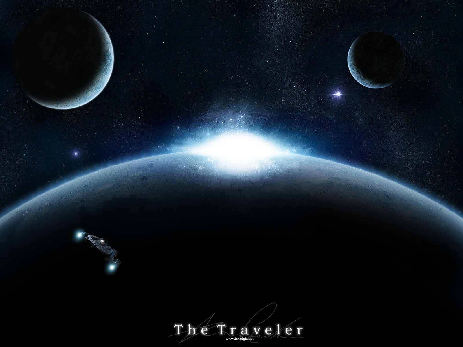 The Traveler by psamtik