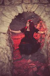 Gothic Lolita 01 by singingaway