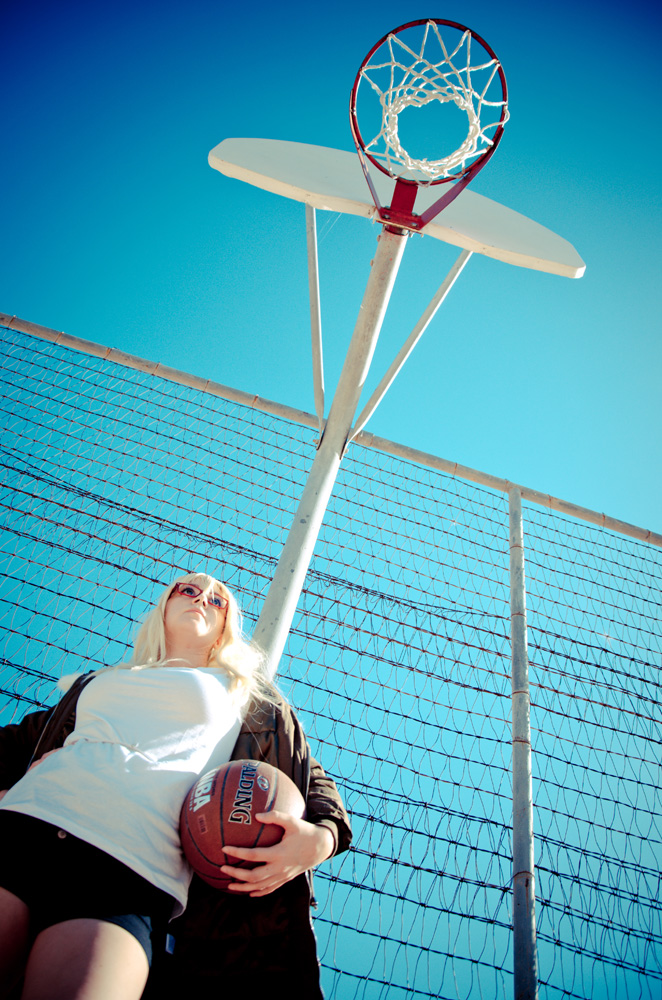 KnB: Basketball Hoop by singingaway