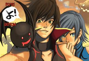 Poyo Yo: Demon 3 by gem2niki