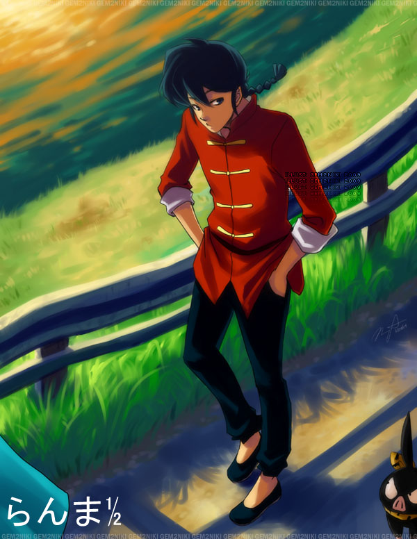 Ranma: Out for a Walk by gem2niki