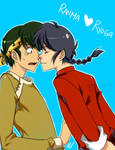 Ranma and Ryoga 2