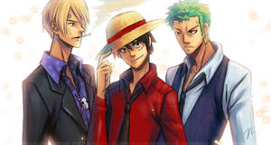 One Piece - Monster Trio