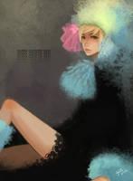 Feather Girl by gem2niki