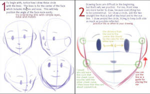 drawing basic -face proportion by gem2niki