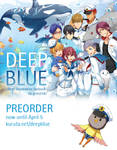 Deep Blue Free! Illustration fanbook Preorder