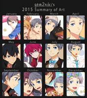 2015 Summary of Art by gem2niki