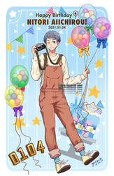 Happy Birthday Nitori 2021