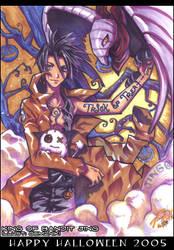 Jing in Halloween 2005
