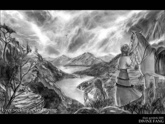 DF -  Ever seeking landscape by gem2niki