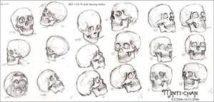 ART112A - Skull Study