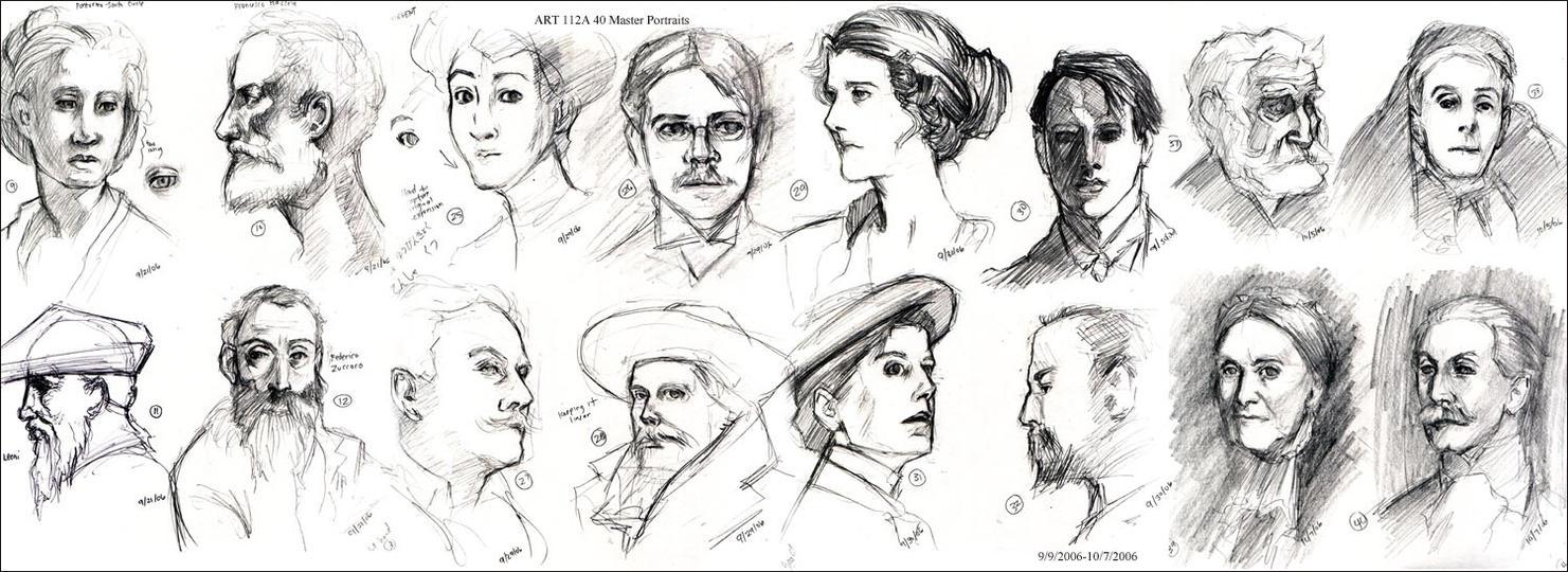 ART112A - Master Portraits by gem2niki