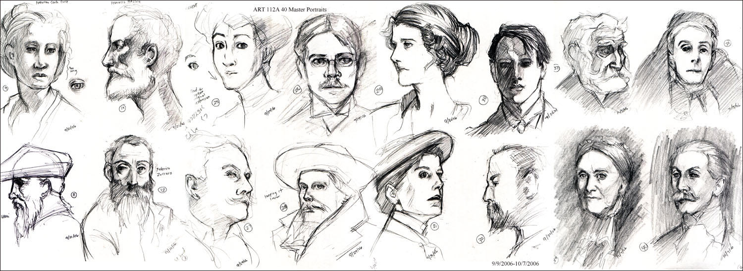 ART112A - Master Portraits by gem2niki