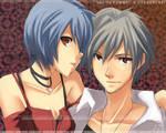 kaworu x rei - the pair