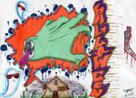 Halloween Graffiti -TTH-