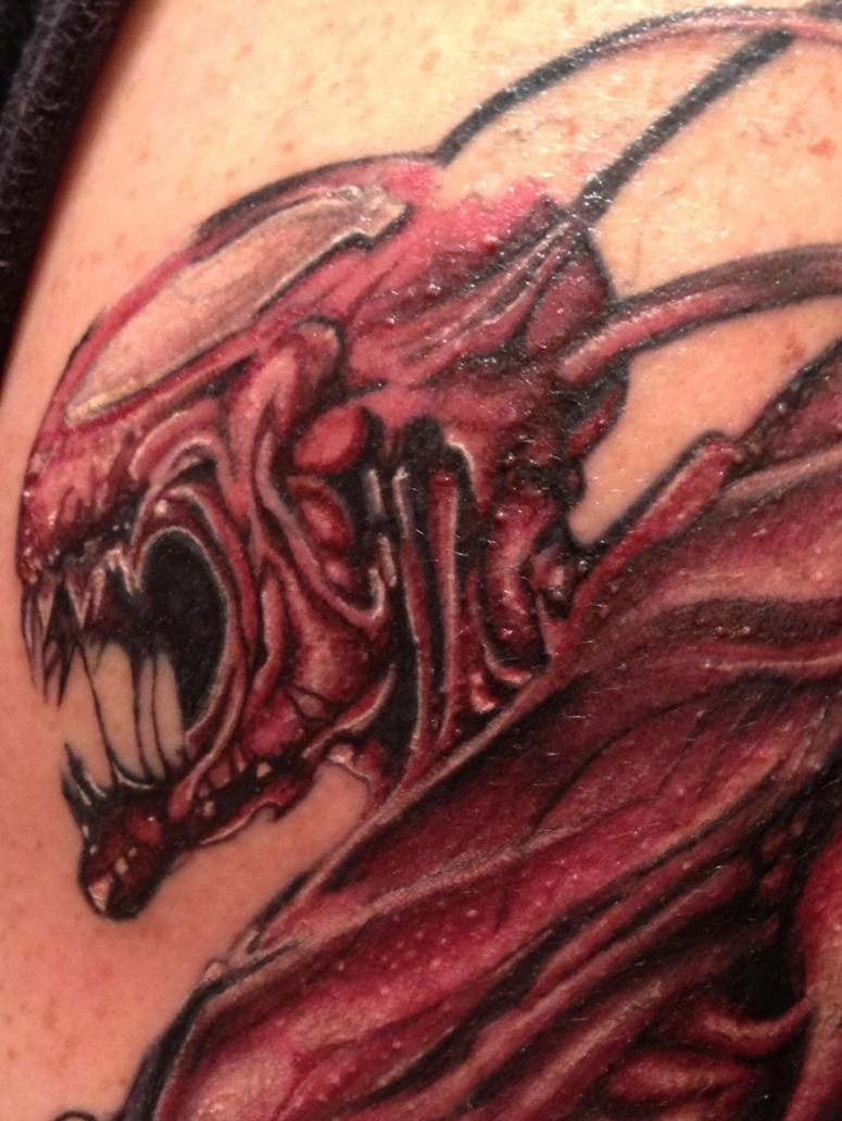 carnage tattoo by eddiebrock69 on deviantart. Black Bedroom Furniture Sets. Home Design Ideas