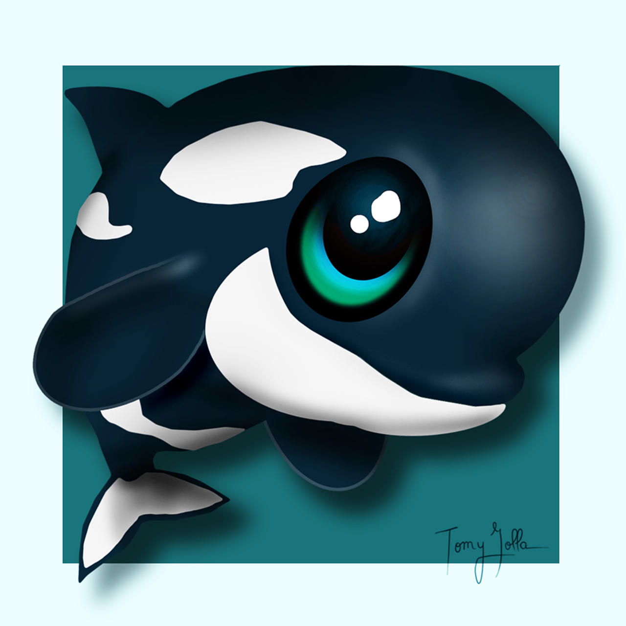 Chibi orca by tomy80 on DeviantArt