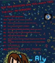 Top Ten Reason MEME :D by Anime-Gamer-Girl