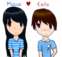 Masae and Emile~ by Anime-Gamer-Girl