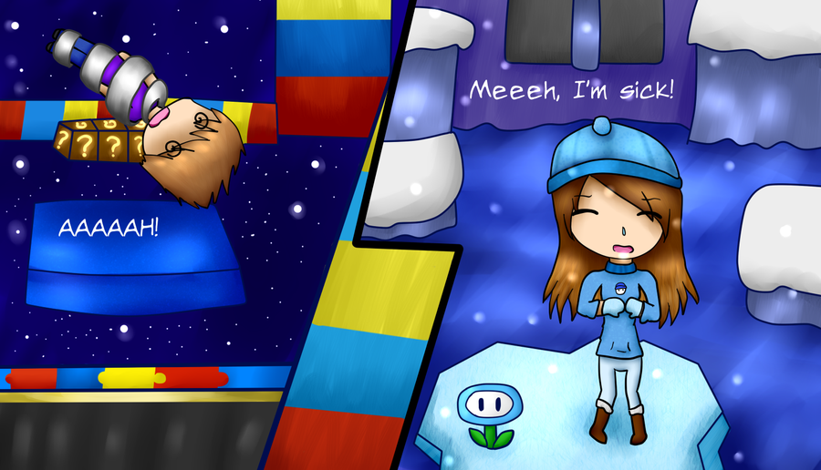 Super Mario Galaxy Versus! by Anime-Gamer-Girl