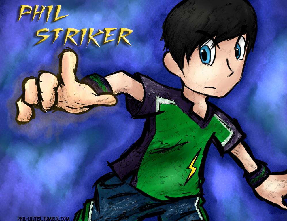 phil striker by Anime-Gamer-Girl
