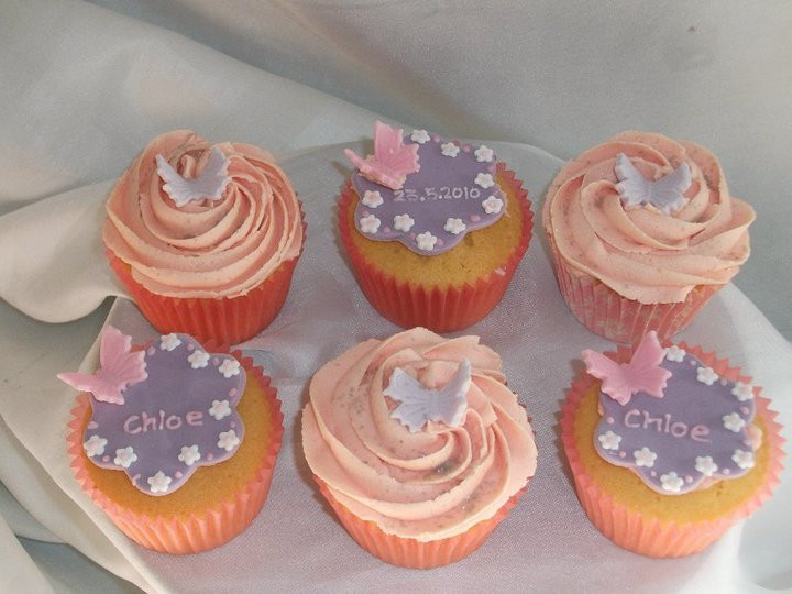 Chloe christening cupcakes by starry design studio on DeviantArt