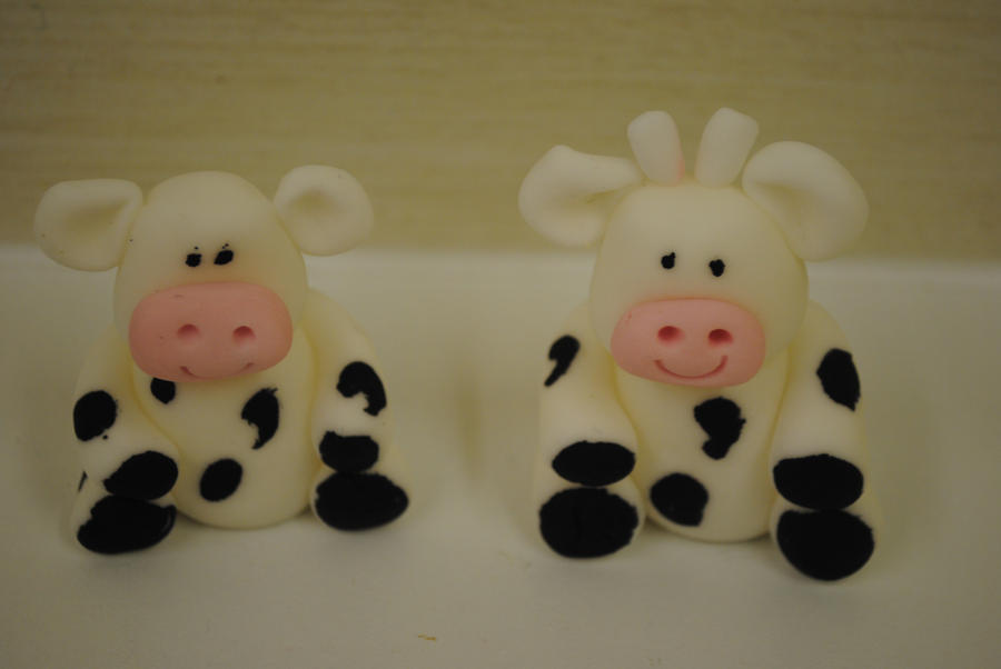 Art By Cow Cake : cow cake toppers by starry-design-studio on DeviantArt
