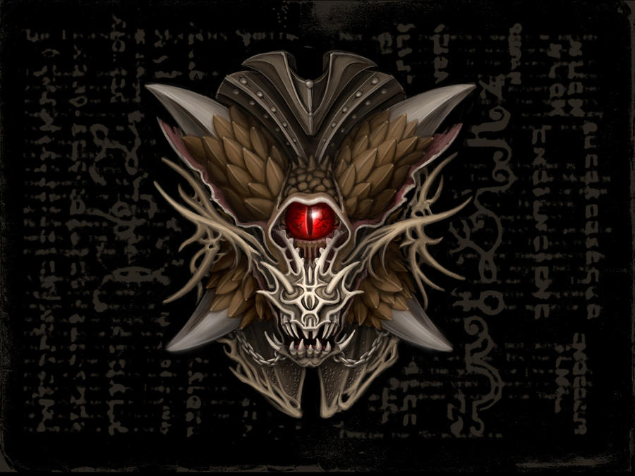 Shield Design for Guild Wars by dee-london
