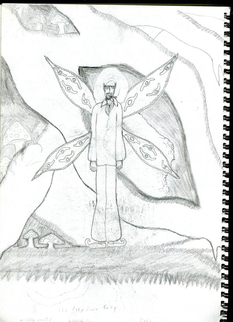 The Deep Down Fairy by 666EvilOneKitsune