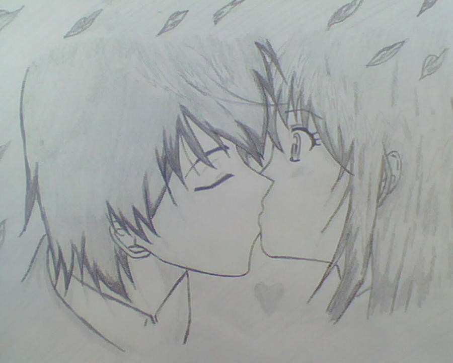 Anime Love Drawings Cake Ideas and Designs