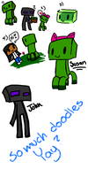 Silly Minecraft Doodles
