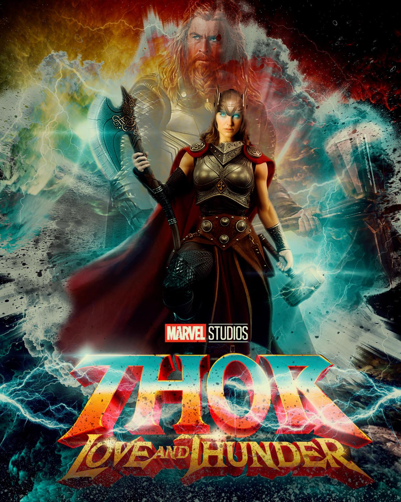 Thor Love And Thunder By ThaiguyUK On DeviantArt