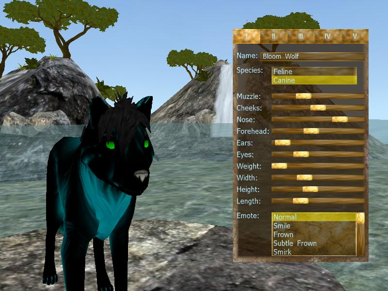 Bloom Wolf by winterwolf0404