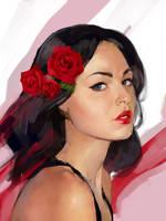 Portrait 4 by NerinFox
