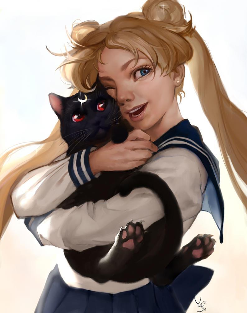 Usagi by NerinFox