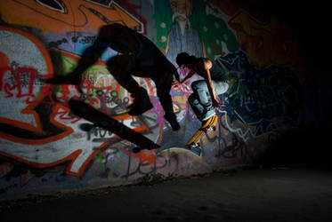 Skate Twins by BandasPhoto
