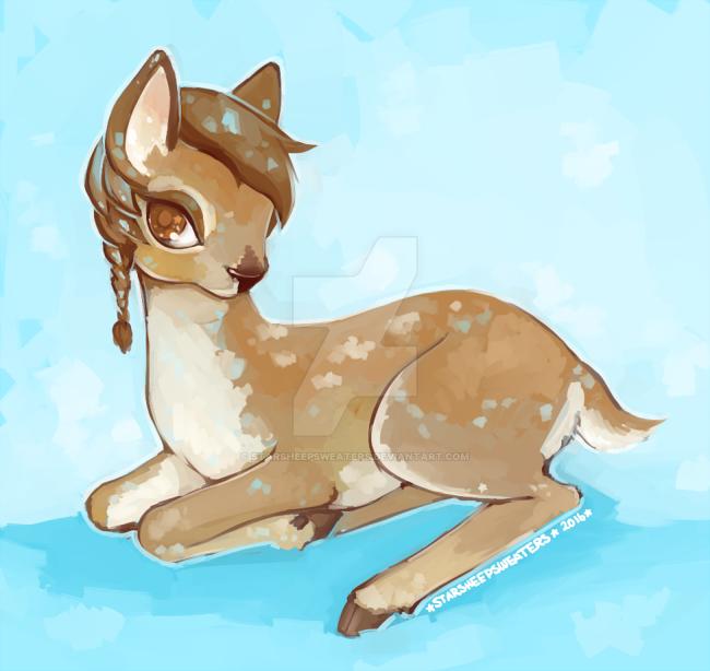Oh Deer by StarSheepSweaters
