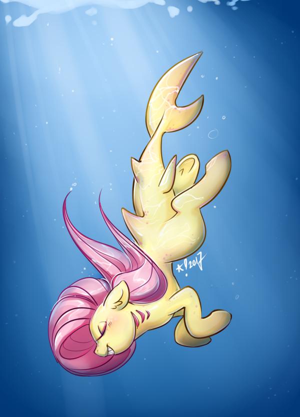 Fluttershark by StarSheepSweaters