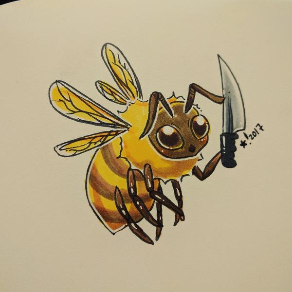 Killer Bee by StarSheepSweaters