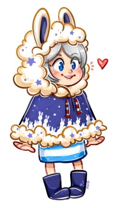 Star bun by StarSheepSweaters
