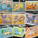 Eeveelution Set