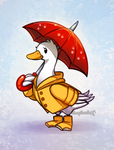 Rainy Duck Day