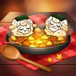 Sheeptember Day 6 - Food