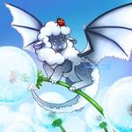 Sheeptember Day 16 - Sheep Dragon