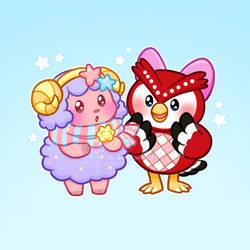 Star Girls: Etoile and Celeste