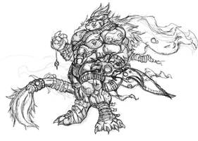 Snowbound Titan by chaos61988